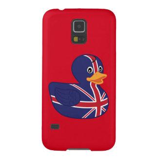 Ducky de goma británico fundas para galaxy s5