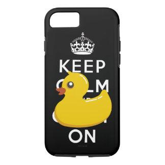 Ducky de goma guardan calma y continúan funda iPhone 7