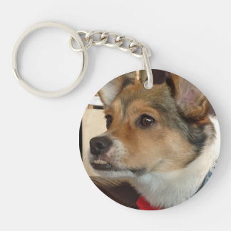 Ducky Dog Double-sided Key Chain