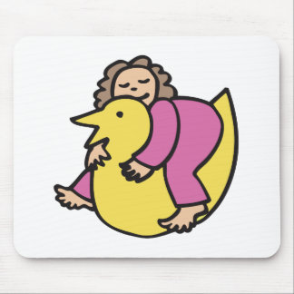 Ducky Dreams Mouse Pad
