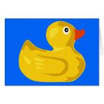 Ducky  Duck Card