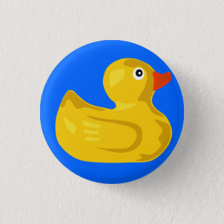 Ducky  Duck Pinback Button