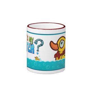 Ducky estupendo taza