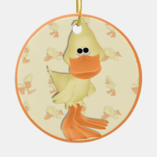 Ducky Holiday Ornament