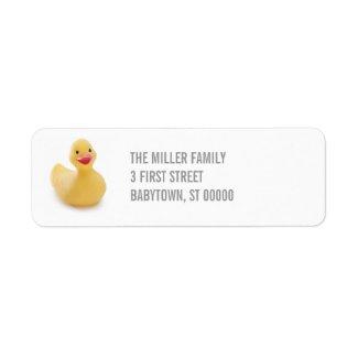 Ducky Kitsch Label label