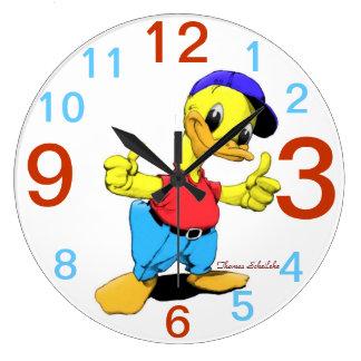 Ducky Large Clock