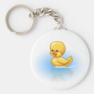 Ducky Llavero Redondo Tipo Pin
