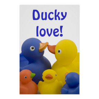 Ducky love - poster