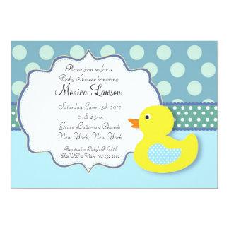 Ducky Modern Baby Shower Invitation