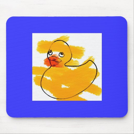ducky mouse pad