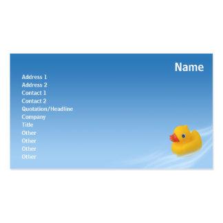 Ducky - negocio tarjetas de visita