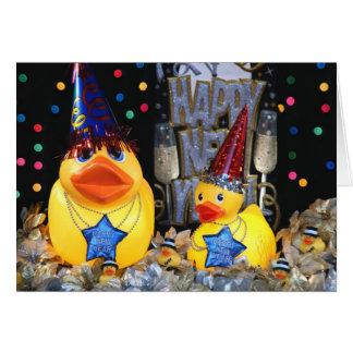 Ducky New Year 2 Card