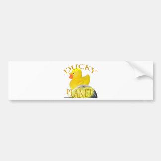 Ducky Planet Logo Bumper Sticker