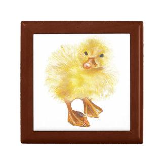 ducky polluelo del bebé cajas de recuerdo
