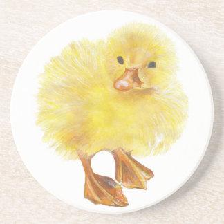 ducky, polluelo del bebé posavasos cerveza