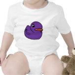Ducky púrpura camisetas