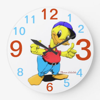Ducky Reloj De Pared