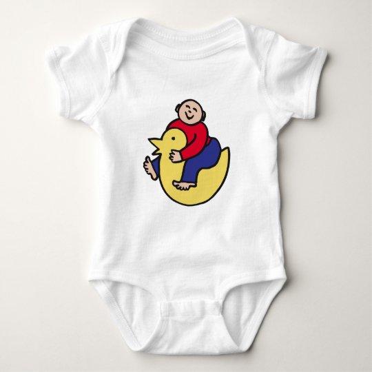 Ducky Rider Baby Bodysuit