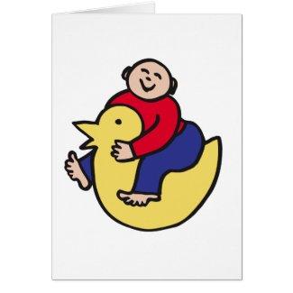 Ducky Rider card