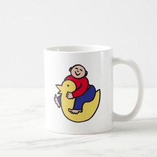 Ducky Rider Coffee Mug
