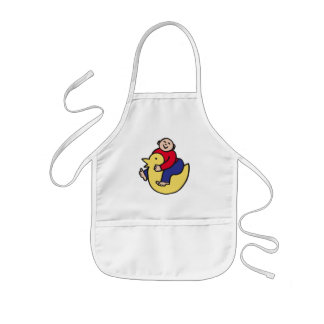 Ducky Rider Kids' Apron