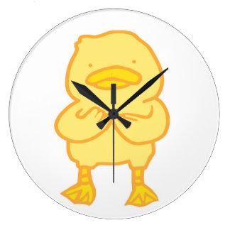 Ducky Round (Large) Clock