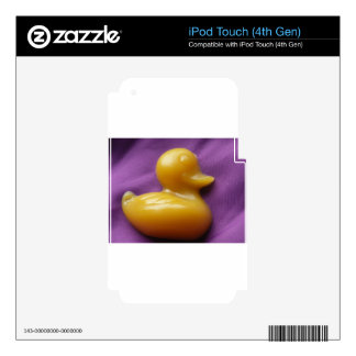 ducky soap decals for iPod touch 4G