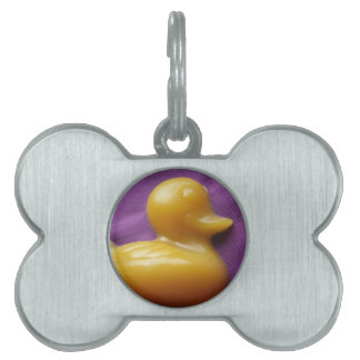 ducky soap pet tag