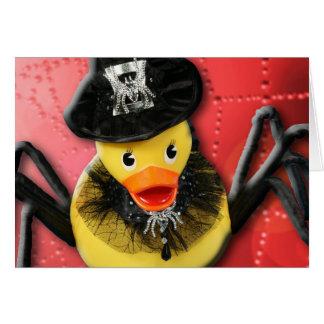 Ducky Spiderwoman! v2 Greeting Card