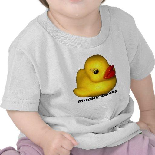 Ducky sucio camiseta