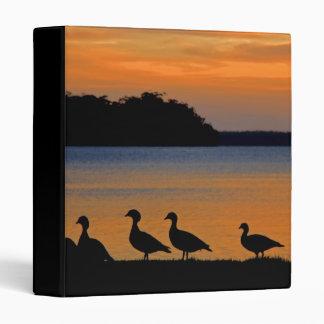 Ducky Sunset Binder