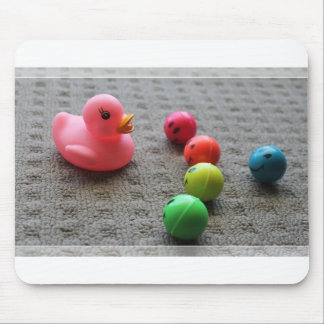 Ducky Surrounded Mouse Pad
