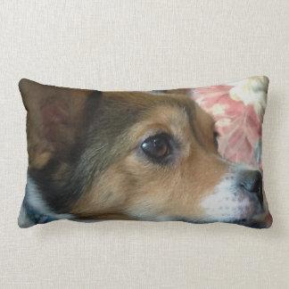 Ducky the Dog Lumbar Pillow