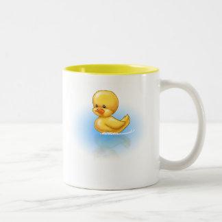 Ducky Two-Tone Coffee Mug
