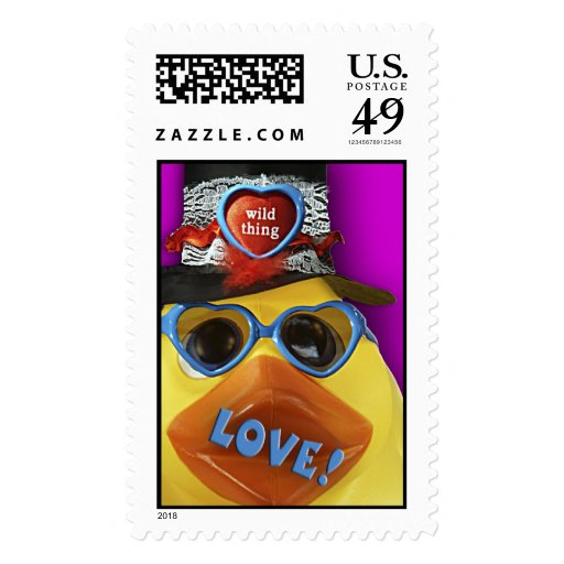 Ducky Valentine! Stamp