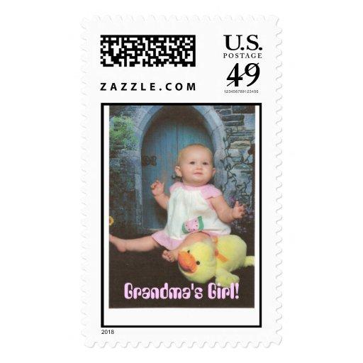 Ducky & Zaylynn, Grandma's Girl! Stamps