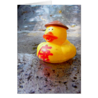 Duckys Day Card