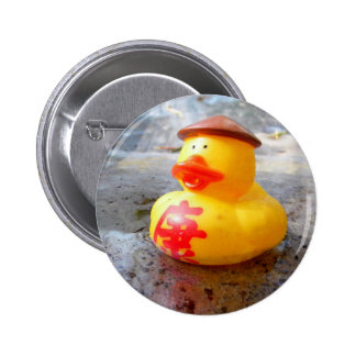 Duckys Day Pinback Button