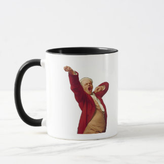 Ducreux yawning simple mug