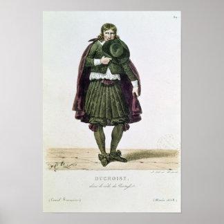 Ducroisy en el papel protagonista de Tartuffe Póster