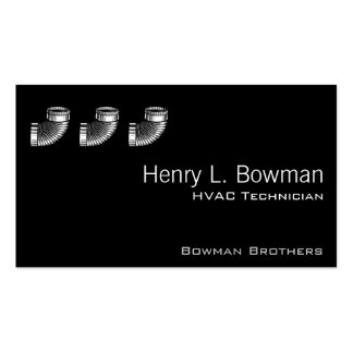 Duct Elbow Business Cards