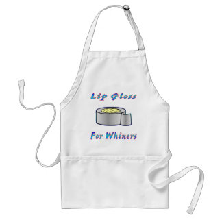 Duct Tap Ie: Lip Gloss For Whiners Adult Apron