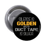 Duct Tape 2 Inch Round Button