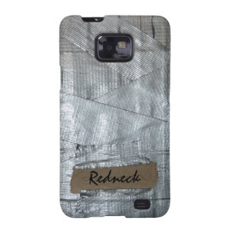 Duct Tape and Ripped Cardboard  Tag Galaxy S2 Cases
