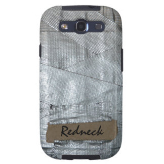 Duct Tape and Ripped Cardboard  Tag Galaxy SIII Cover