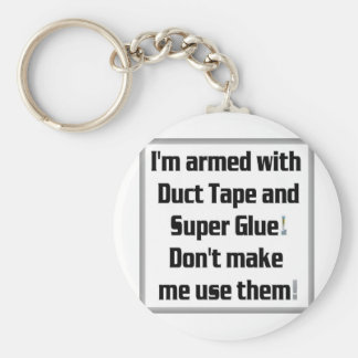 Duct Tape and Super Glue Keychain