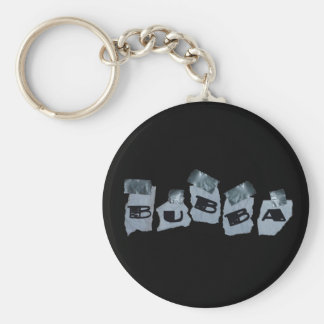 Duct Tape Bubba Basic Round Button Keychain