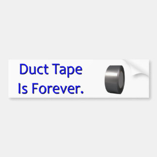 Duct Tape Bumper Sticker