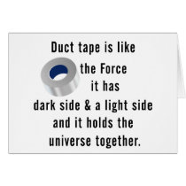 Duct Tape, Engineering humor Card