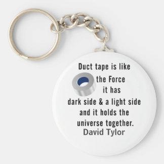 Duct Tape, Engineering humor Keychain